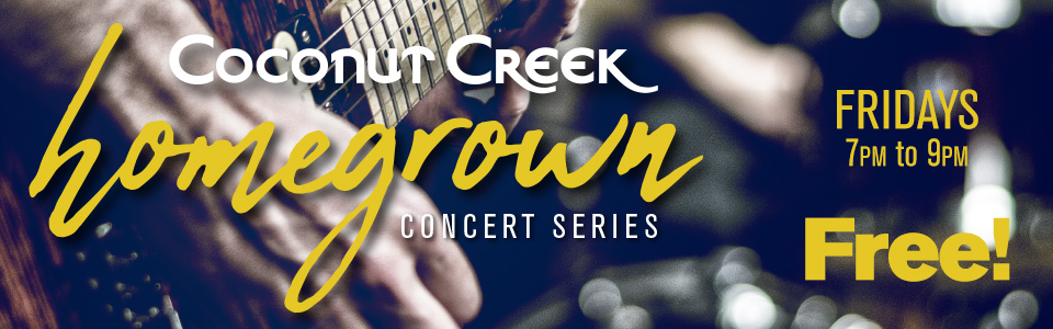 Coconut Creek Homegrown Concert Series